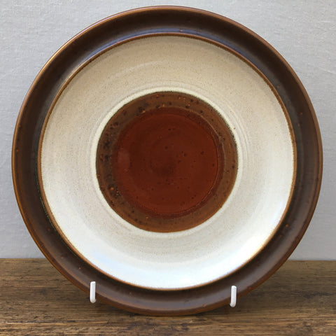 Denby Potters Wheel Rust Breakfast Plate