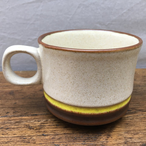 Denby Potters Wheel (Yellow) Tea Cup