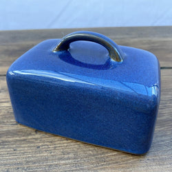 Denby Imperial Blue Butter Dish Top