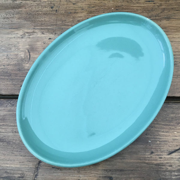 Denby Manor Green Small Oval Plate