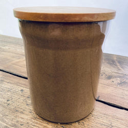 Denby Pampas Storage Jar, Small