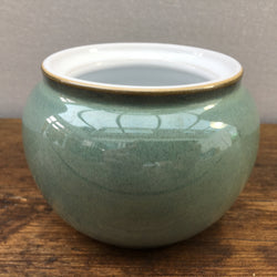 Denby Regency Green Lidded Sugar (Missing Lid)