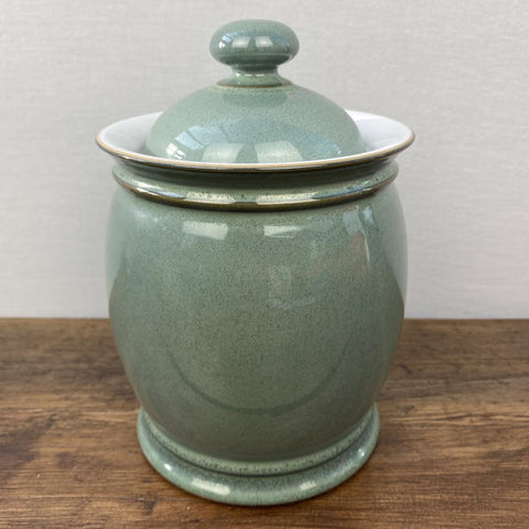 Denby Regency Green Storage Jar