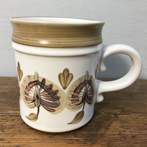 Denby Six of the Best Mug by Trish Seal - Brown Leaf