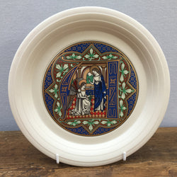 Hornsea Pottery Christmas Plate - Letter 'A' 1986