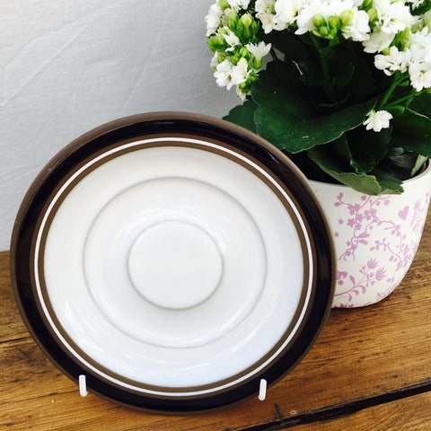 Hornsea Contrast Gravy Dish & Saucer/Stand