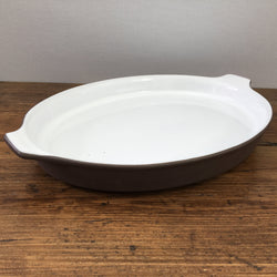 Hornsea Contrast Oval Roasting Tray
