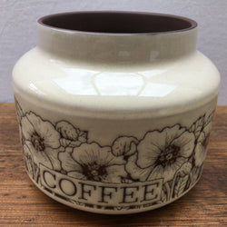 Hornsea Cornrose Small Coffee Jar (No Lid)
