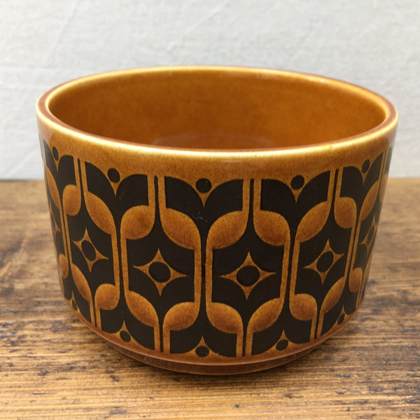 Hornsea Heirloom Brown Wide Sugar Bowl