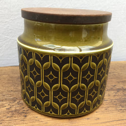 Hornsea Heirloom Green Storage Jar