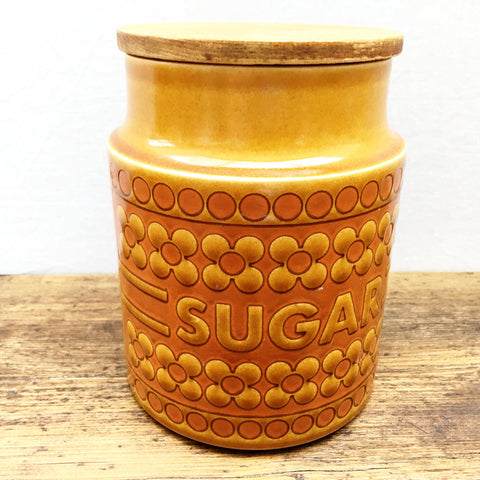 Hornsea Saffron Medium Lidded Sugar Storage Jar