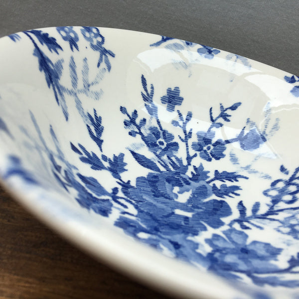 Johnson Bros Blue Tapestry Cereal/Soup Bowl