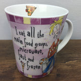 Johnson Bros Born To Shop Mug - I eat all the main food groups