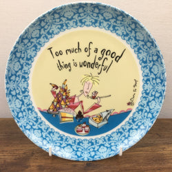 Johnson Bros Born To Shop Plate - Too much of a good thing