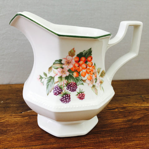 "Johnson Bros ""Fresh Fruit"" Milk Jug"