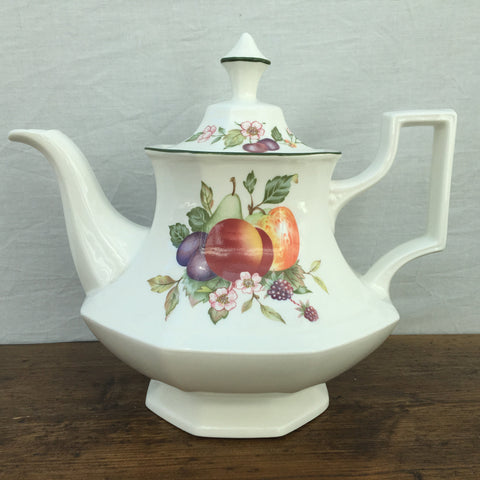 "Johnson Bros ""Fresh Fruit"" Teapot"