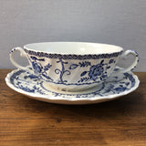 Johnson Bros Indies Soup Cups & Saucers