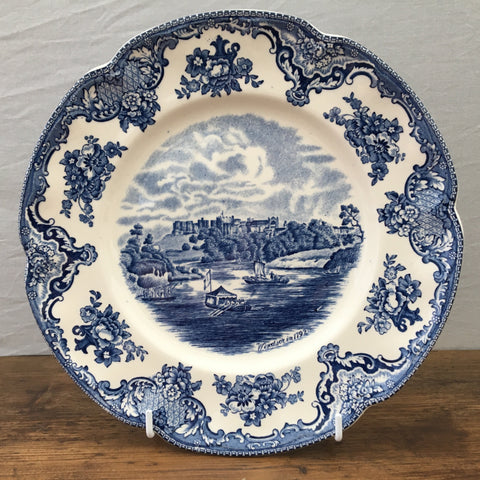 "Johnson Bros ""Old Britain Castles (Blue)"" Breakfast Plate"