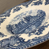 Johnson Bros Old Britain Castles Blue Soup Plate