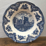 Johnson Bros Old Britain Castles Blue Rimmed Bowl