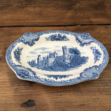 Johnson Bros Old Britain Castles Biscuit Plate