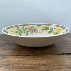 Johnson Bros Spring Medley Oval Serving Dish