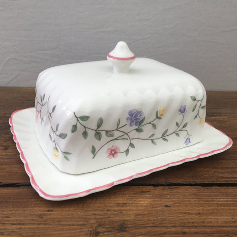 Johnson Bros Summer Chintz Butter Dish