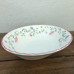 "Johnson Bros ""Summer Chintz"" Oval Serving Dish"