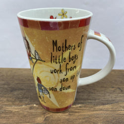 Johnson Brothers Born To Shop Tall Mug Mothers of Little Boys