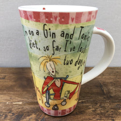 Johnson Bros Born To Shop Mug, Gin and Tonic Diet