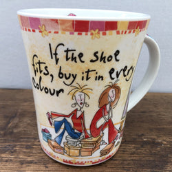 Johnson Brothers Born To Shop Coffee Cup / Small Mug