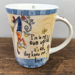 Johnson Bros Born To Shop Mug (I'm in my own world)