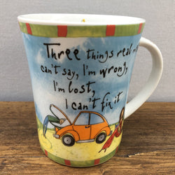 Johnson Brothers Born To Shop Mug - Three things real mean can't say