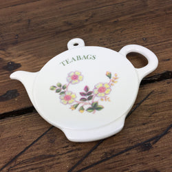Marks & Spence Autumn Leaves Tea Bag Holder (Melamine)