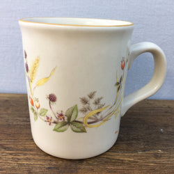 "Marks & Spencer ""Harvest"" Mug (Brown Rim on Top)"