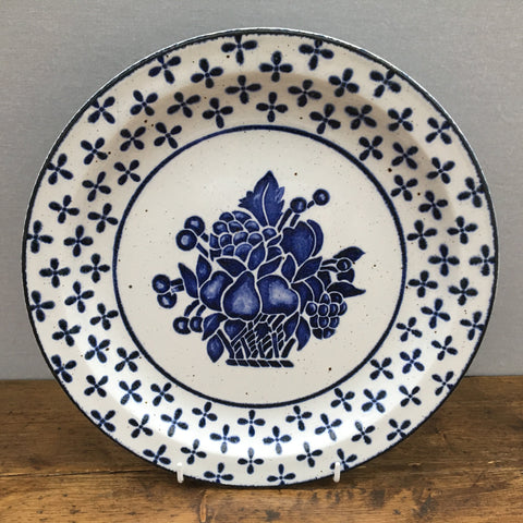 Midwinter Country Blue Dinner Plate