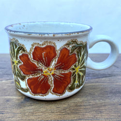 Midwinter Nasturtium Breakfast Cup
