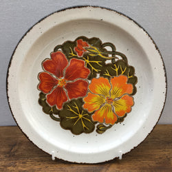 Midwinter Nasturtium Breakfast Plate
