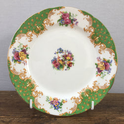 Paragon Rockingham Green Tea / Bread & Butter Plate