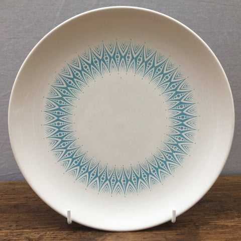 Poole Pottery Arabesque Blue Breakfast/Salad Plate