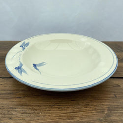 Poole Pottery Dragonfly Blue Pasta Bowl