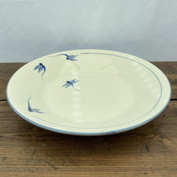 Poole Pottery Dragonfly Blue Pasta/Salad Serving Bowl