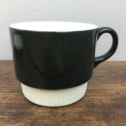 Poole Pottery Charcoal Breakfast Cup
