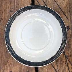 Poole Pottery Charcoal Breakfast Saucer