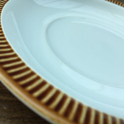 Poole Chestnut Breakfast Saucer