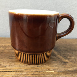 Poole Pottery Chestnut Coffee Cup