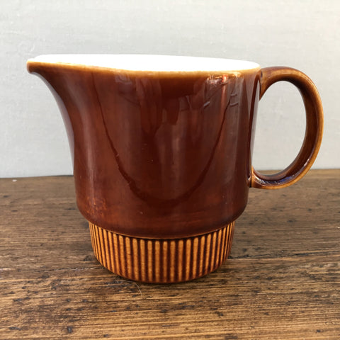 Poole Pottery Chestnut Cream Jug