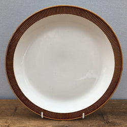 Poole Pottery Chestnut Dinner Plate