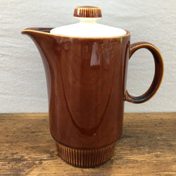 Poole Pottery Chestnut Hot Water Pot