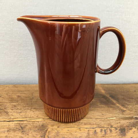 Poole Pottery Chestnut Hot Water Pot (Missing Lid)